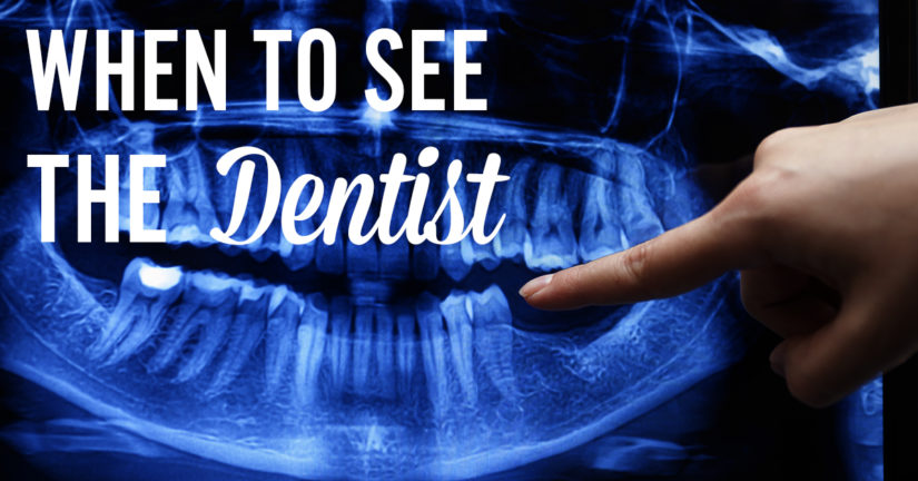 When To See The Dentist